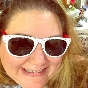Accessories - Adult 4th of July sunglasses with stars